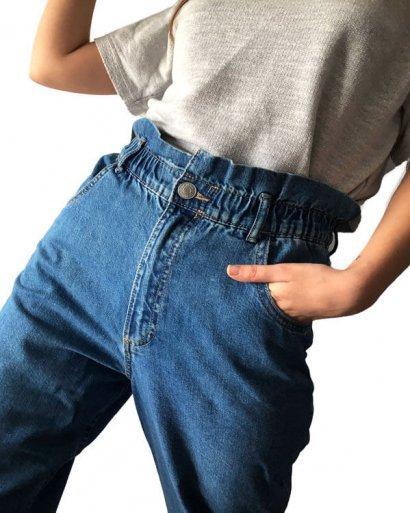 calças slouchy