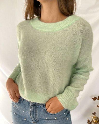 Camisola malha verde