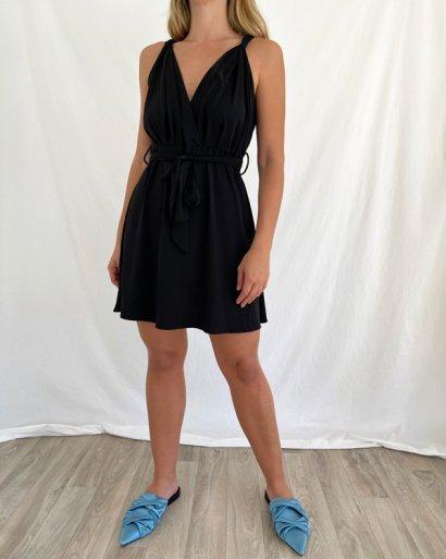Vestido laçada