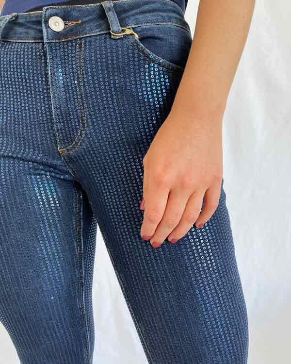Jeans lantejoulas