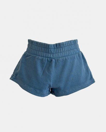 calções azuis