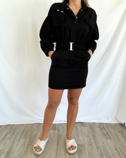 Vestido cinto